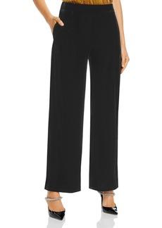 DKNY Donna Karan New York Velvet Wide-Leg Pants