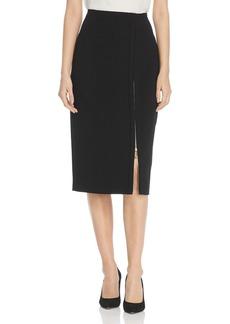 DKNY Donna Karan New York Zip Slit Pencil Skirt