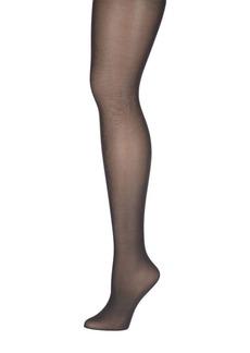 DKNY Donna Karan Petite Opaque Satin Control Top Tights