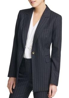 DKNY Donna Karan Pinstripe Jacket