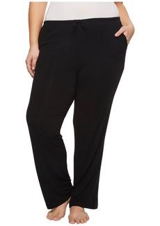 DKNY Plus Size Modal Spandex Jersey Long Pants