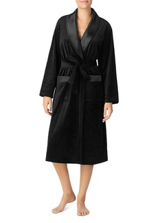 DKNY Donna Karan Plush Long Robe