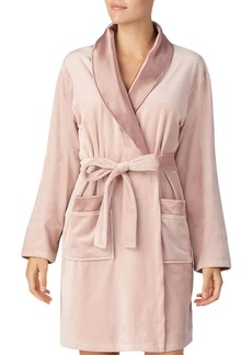 DKNY Donna Karan Plush Short Robe