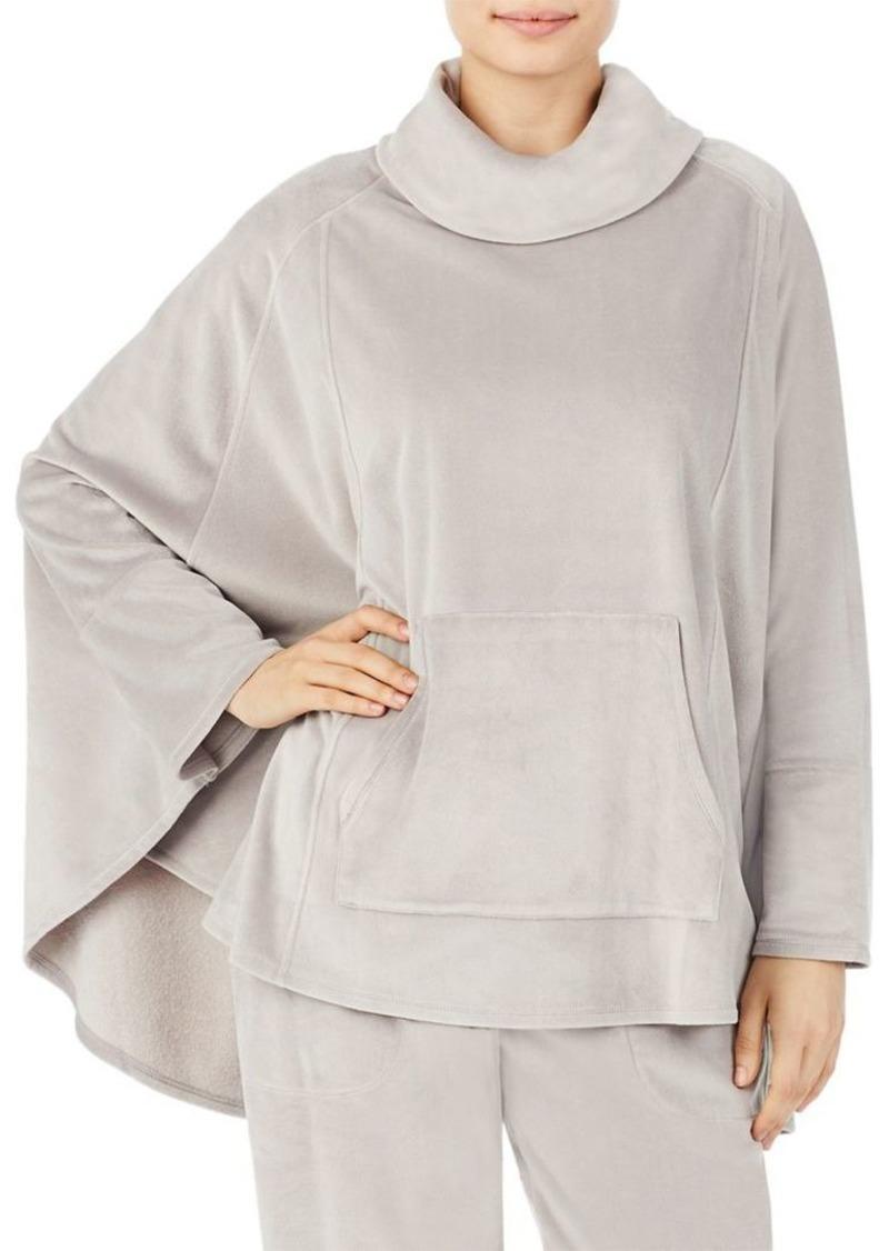 DKNY Donna Karan Plush Sleepwear Poncho