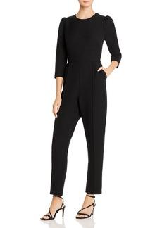 DKNY Donna Karan New York Puff Sleeve Jumpsuit