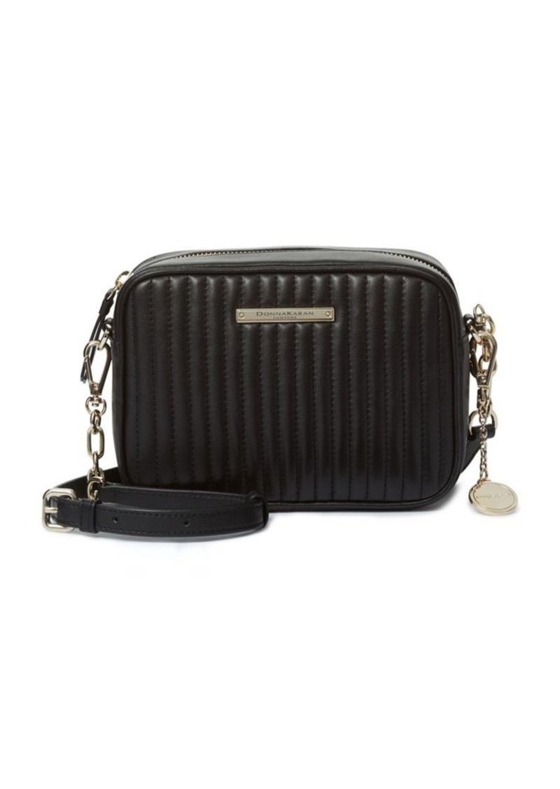 DKNY Donna Karan Quilted Leather Shoulder Bag  ec9de3158