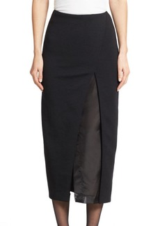DKNY Shadow-Panel Suit Skirt