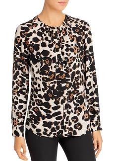 DKNY Donna Karan Shirred Blouse