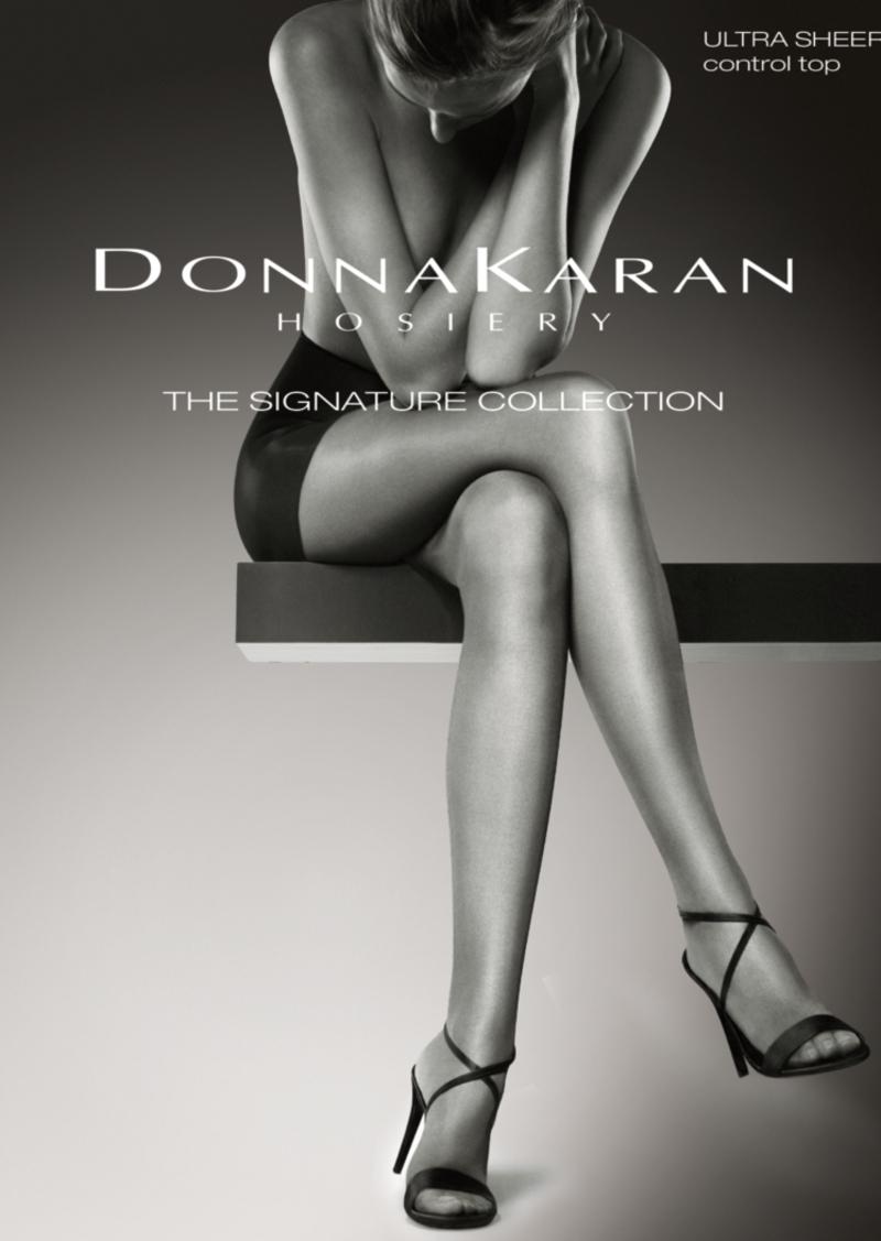 DKNY Donna Karan Signature Lace Thigh High DKF007