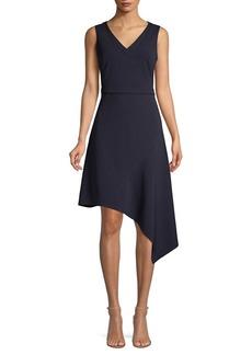 DKNY Donna Karan Sleeveless Asymmetric Dress