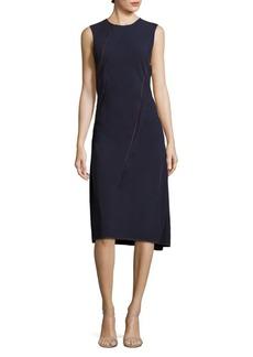 DKNY Sleeveless Asymmetrical Dress