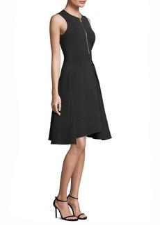 DKNY Donna Karan Sleeveless Fit-&-Flare Dress