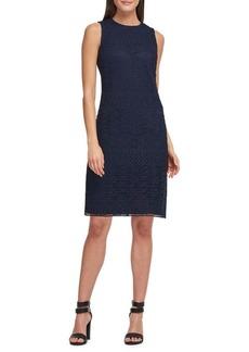 DKNY Donna Karan Sleeveless Lace Sheath Dress