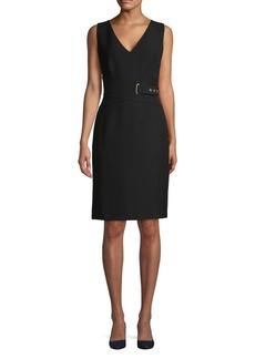 DKNY Donna Karan Sleeveless Sheath Dress