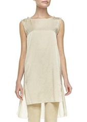 DKNY Donna Karan Sleeveless Stacked-Hem Tunic
