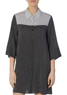 DKNY Donna Karan Striped Sleepshirt