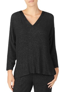 DKNY Donna Karan Sweater Knit Long-Sleeve Top