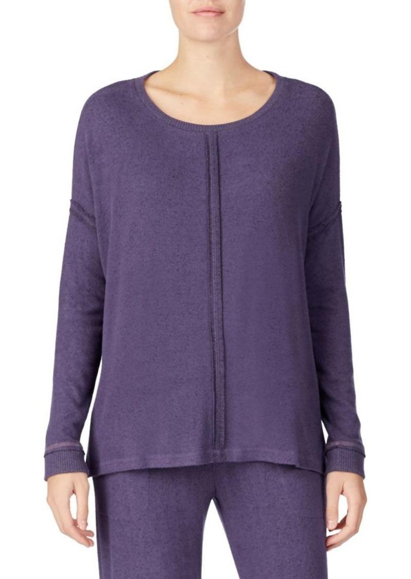 DKNY Donna Karan Sweater Knit PJ Top