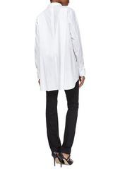 DKNY Donna Karan Tailored Cotton Poplin Tunic