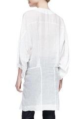 DKNY Donna Karan Three-Quarter Full-Sleeve Tunic