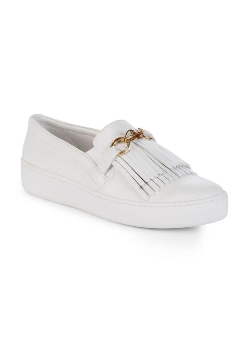 dc371468e DKNY Donna Karan Tiana Slip-On Leather Sneakers | Shoes