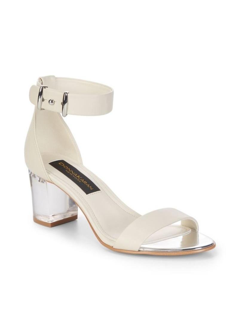 15d59ac4632 Donna Karan Tina Ankle Strap Sandals