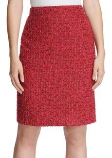 DKNY Donna Karan Tweed A-Line Skirt