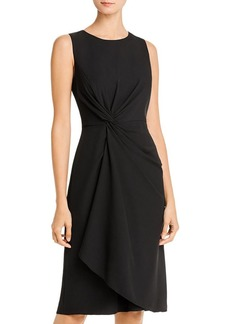 DKNY Donna Karan New York Twist-Front Dress