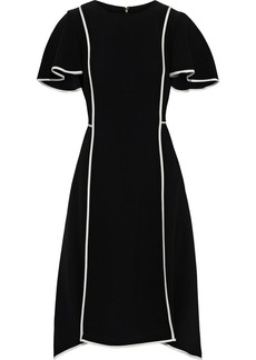 DKNY Donna Karan Woman Asymmetric Crepe Dress Black