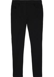 DKNY Donna Karan Woman Cotton-blend Twill Skinny Pants Black