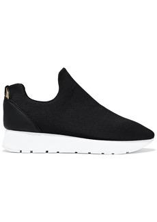 DKNY Donna Karan Woman Erin Neoprene Slip-on Sneakers Black