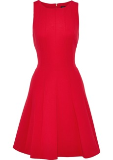 DKNY Donna Karan Woman Flared Ponte Dress Red