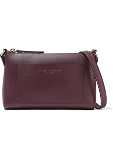 DKNY Donna Karan Woman Karla Small Leather Shoulder Bag Plum