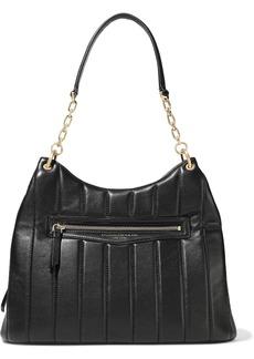 DKNY Donna Karan Woman Quilted Leather Shoulder Bag Black
