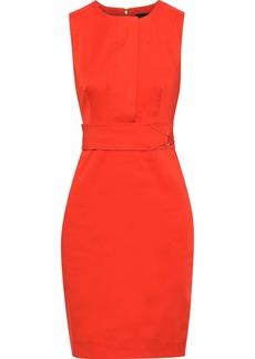 DKNY Donna Karan Woman Stretch-cotton Dress Tomato Red