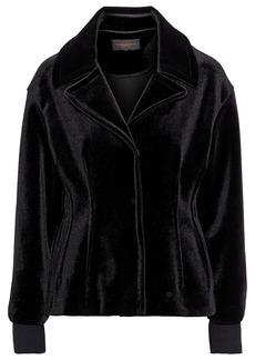 DKNY Donna Karan Woman Velvet Jacket Black