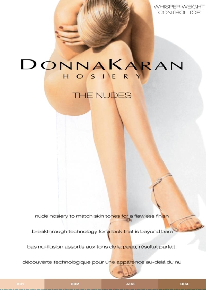 DKNY Donna Karan Women's Beyond Nudes Control Top Pantyhose DKS004