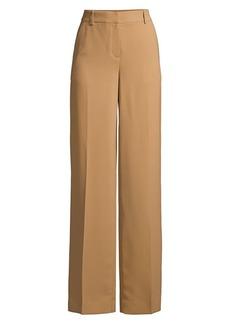 DKNY Double Crepe Wide-Leg Pants