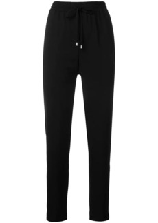 DKNY drawstring fitted trousers