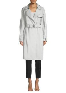 DKNY Embellished Trench Coat