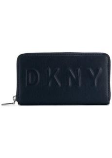 DKNY embossed logo wallet