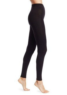 DKNY Matte Jersey Footless Tights