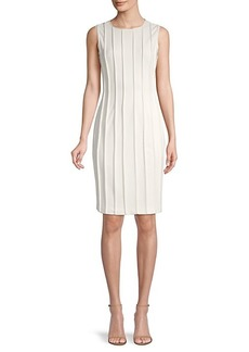 DKNY Exposed-Seam Sheath Dress