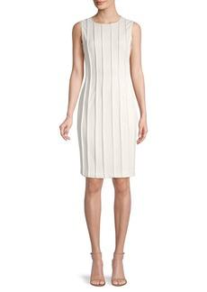 DKNY Exposed-Seam Sheath Dress