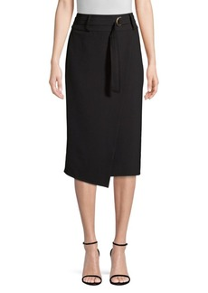 DKNY Faux Wrap Pencil Skirt