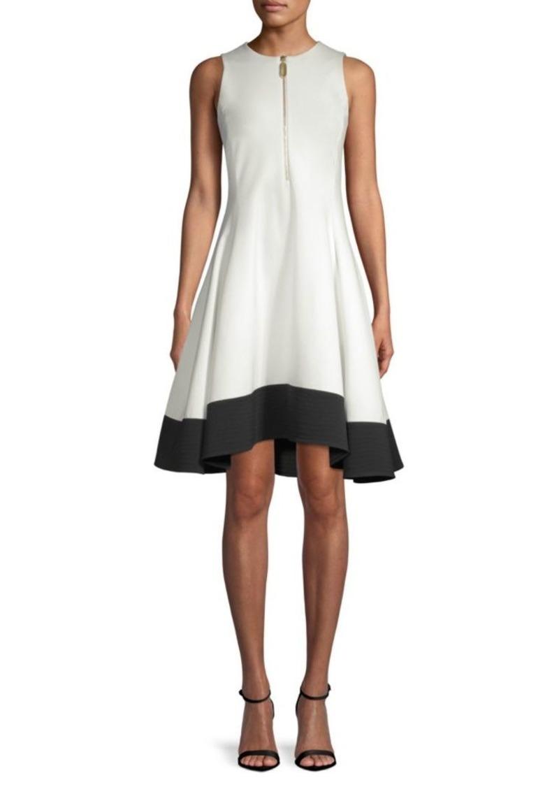 DKNY Fit-&-Flare Dress