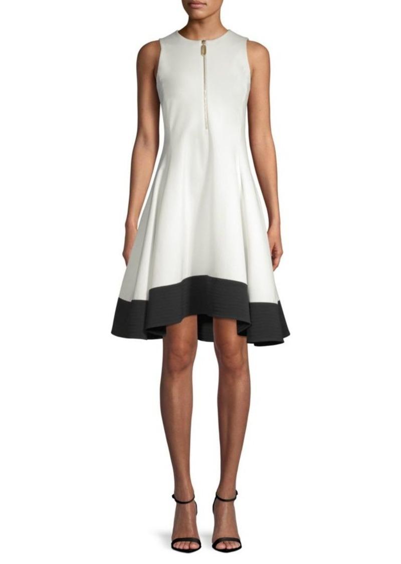 0f4193c3a34 DKNY Fit- -Flare Dress