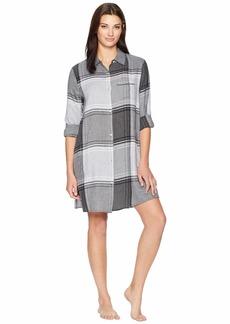 DKNY Flannel Nightshirt