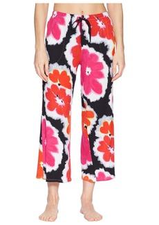 DKNY Floral Capri Pants