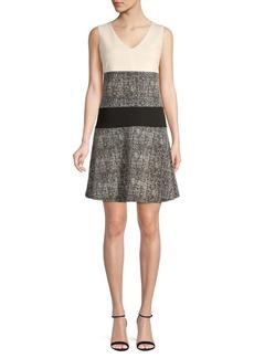 DKNY Flounce A-Line Dress